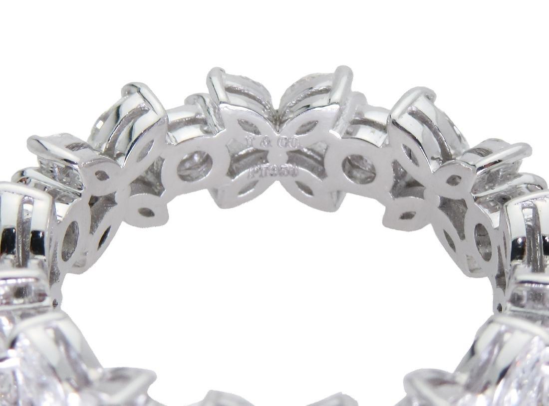 Tiffany & Co Victoria Platinum Alternating Diamond Band - 2