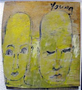 PURVIS YOUNG EYES WIDE OPEN, EYES SHUT MIXED MEDIA
