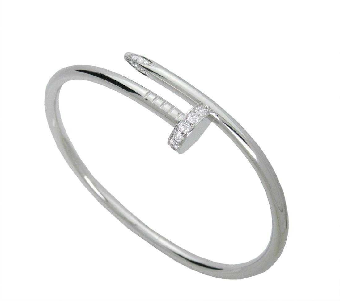 Cartier juste Un Clou Gold Diamond Bracelet