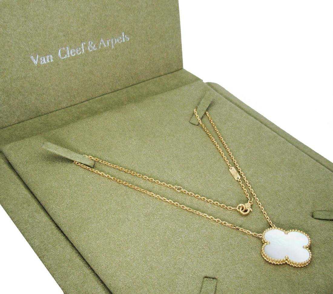 Van Cleef & Arpels 18K Magic Alhambra Mother of Pearl