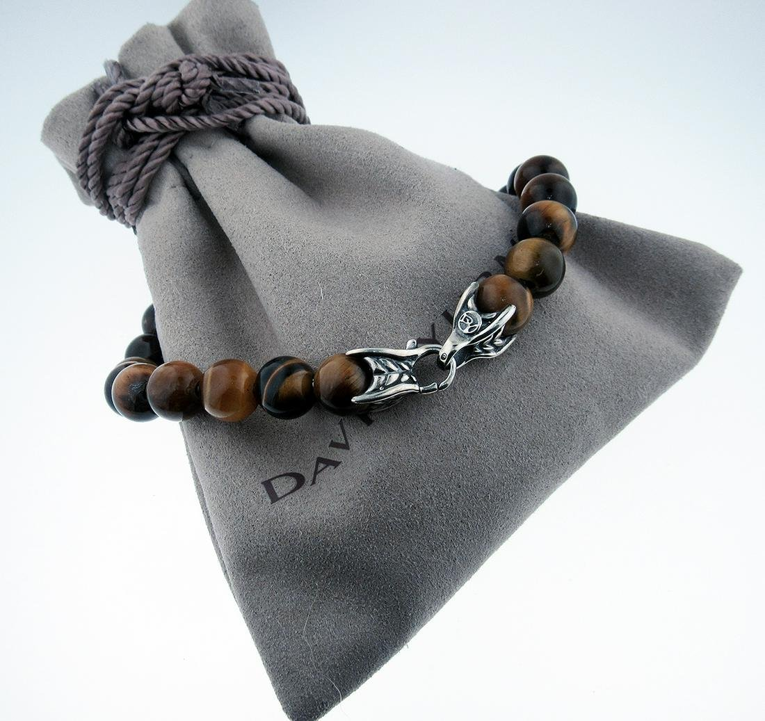 DAVID YURMAN Sterling Silver Spiritual Beads Tiger's