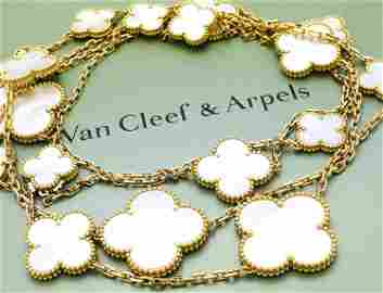 Van Cleef & Arpels Magic Alhambra 18k Mother-of Pearl