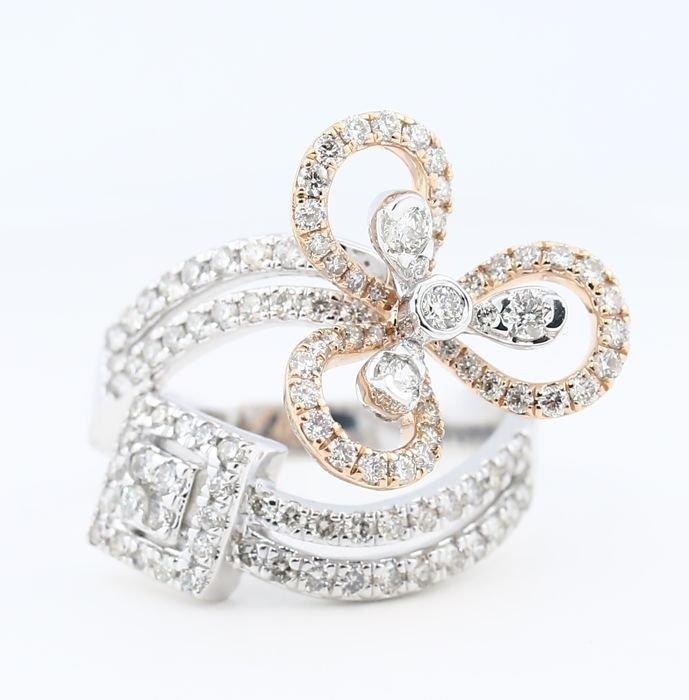 IGI certified Designer Diamond Ring