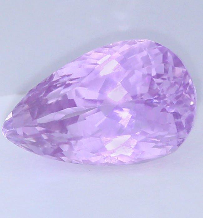 IGI Certified 16.39 ct. Kunzite -  Purple Pink