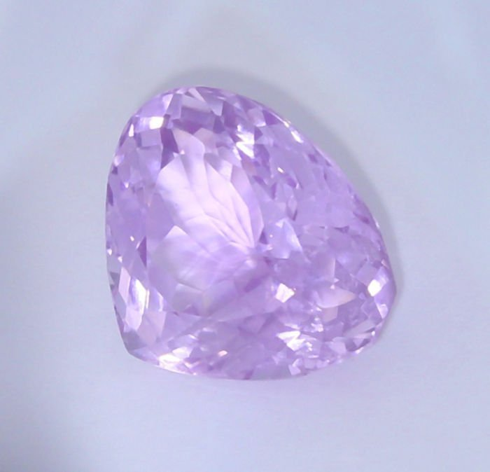IGI Certified 14.47 ct. Kunzite - Purplish Pink