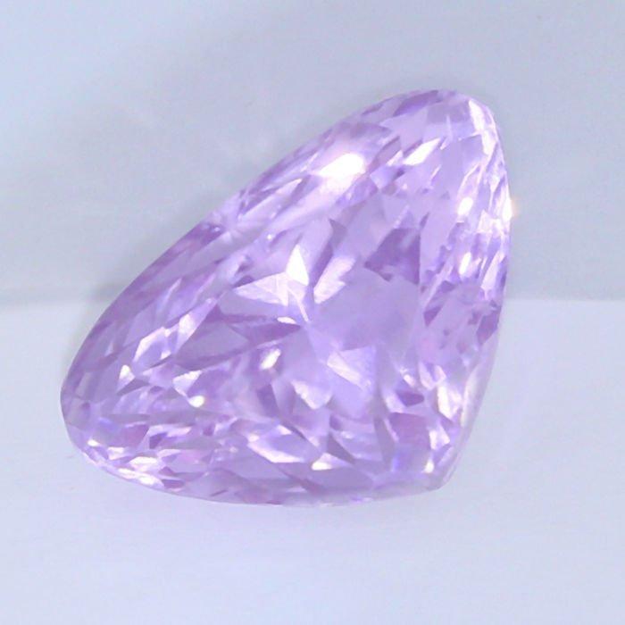 IGI Certified 14.93 ct. Kunzite - Purple Pink