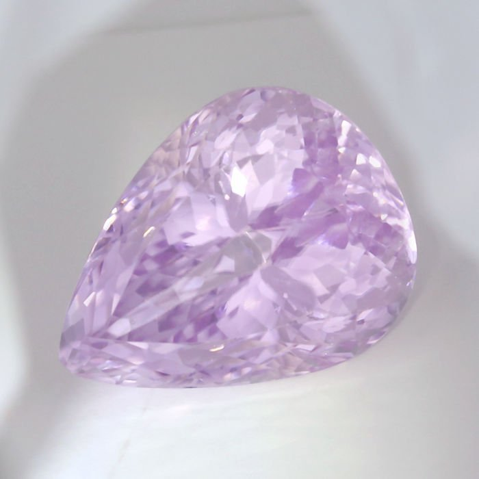 GIA certified 69.53 ct. Kunzite - Pink
