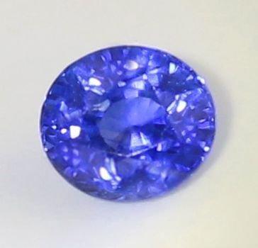 LOTUS Cert. 1.98 ct. Blue Sapphire - Cornflower Blue