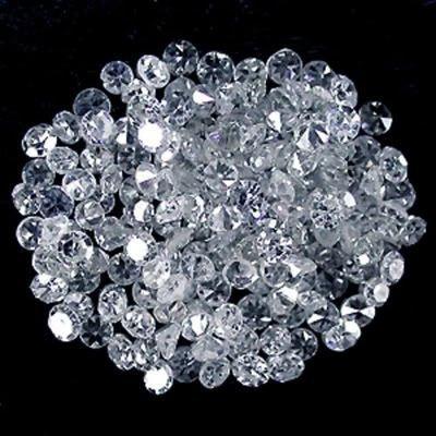 12.02 ct. Round Brilliant White Diamond Lot - G - H / I