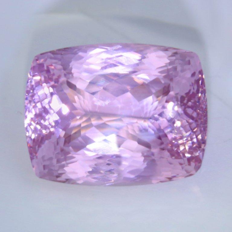IGI Cert. 107.37 ct. - Large Kunzite - Purplish Pink