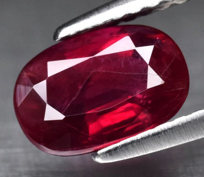 GIA Certified 1.61 ct. Untreated Ruby - MOZAMBIQUE