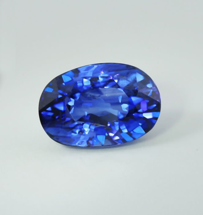 GRS Certified 3.99 ct. Blue Sapphire - Royal Blue