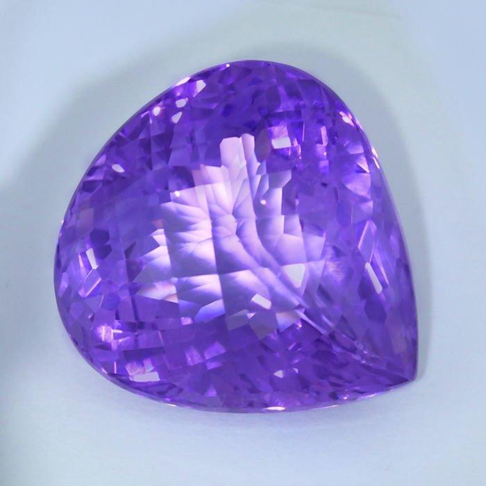 GIA Certified 46.01 ct. Purple Amethyst BRAZIL