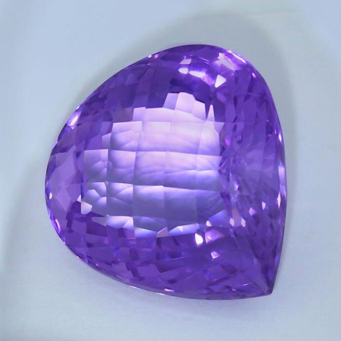 GIA Certified 46.01 ct. Purple Amethyst BRAZIL - 3