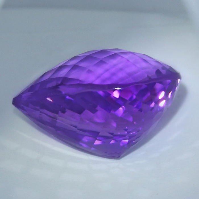 GIA Certified 46.01 ct. Purple Amethyst BRAZIL - 4