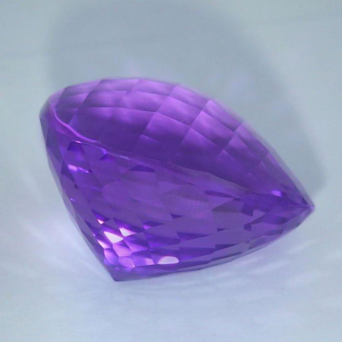 GIA Certified 46.01 ct. Purple Amethyst BRAZIL - 5