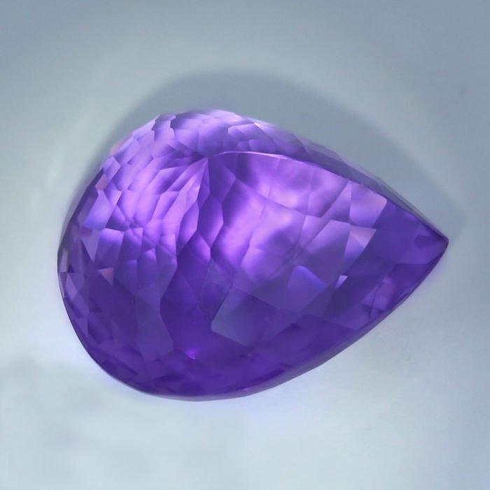 GIA Certified 46.01 ct. Purple Amethyst BRAZIL - 6