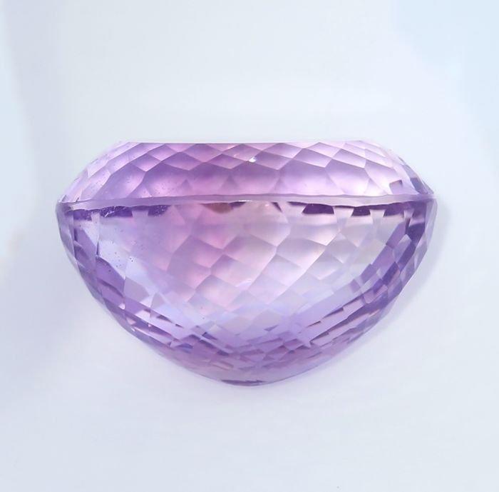 IGI Certified 60.62 ct. Purple Amethyst BRAZIL - 4