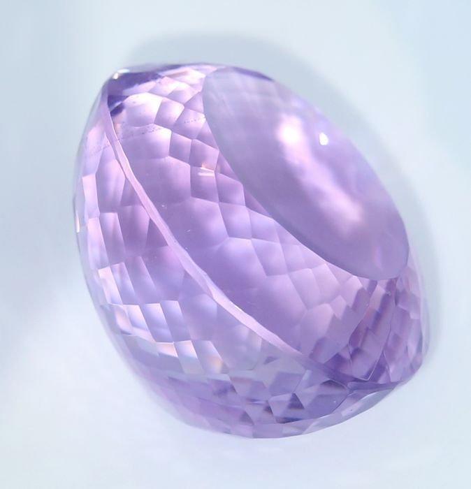 IGI Certified 60.62 ct. Purple Amethyst BRAZIL - 5