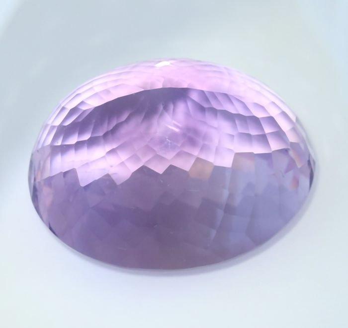 IGI Certified 60.62 ct. Purple Amethyst BRAZIL - 6