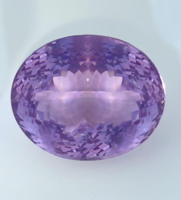 IGI Certified 60.62 ct. Purple Amethyst BRAZIL - 7