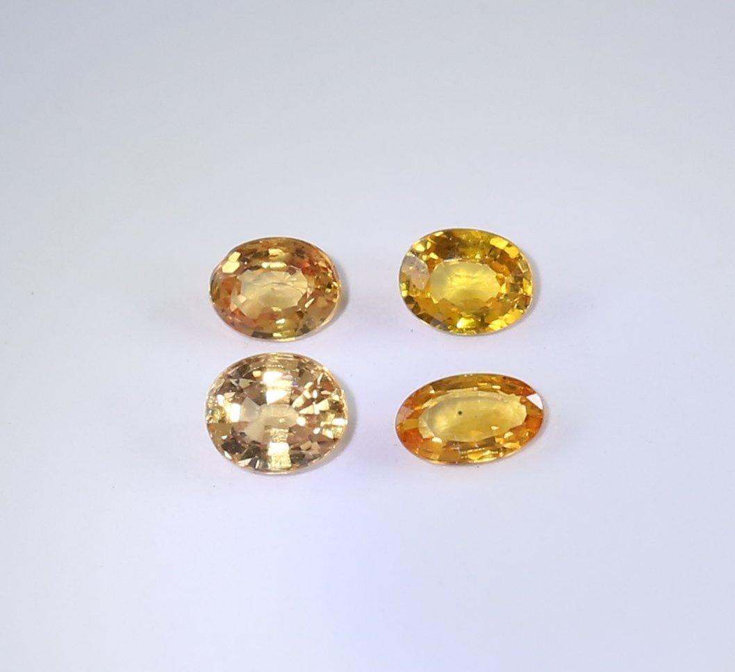 IGI Cert. Set of 4 Sapphires 1.32 ct. - MADAGASCAR
