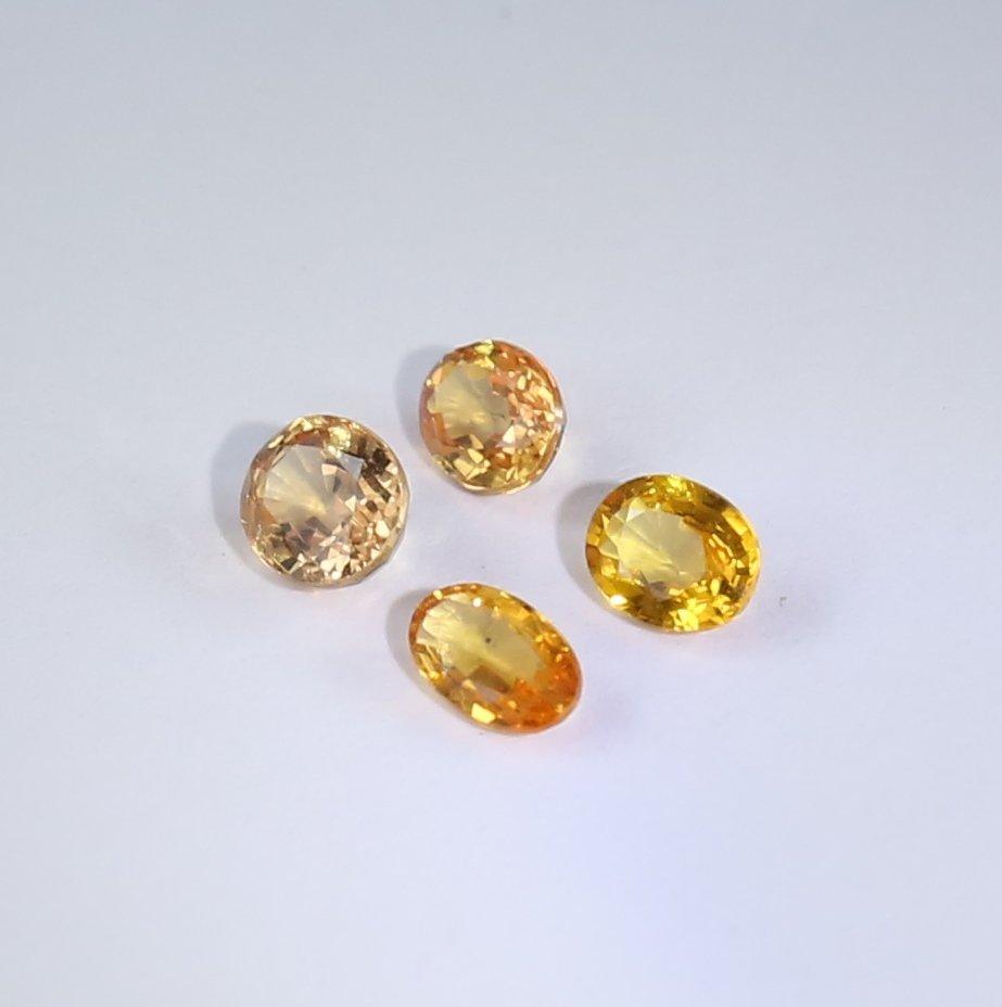 IGI Cert. Set of 4 Sapphires 1.32 ct. - MADAGASCAR - 3