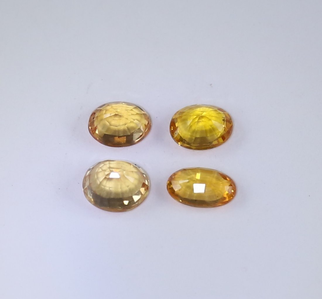 IGI Cert. Set of 4 Sapphires 1.32 ct. - MADAGASCAR - 5