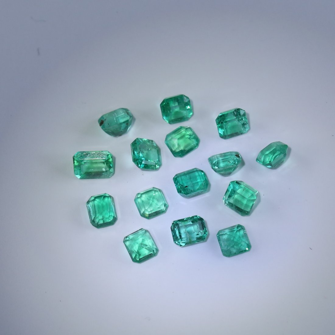 4.16 ct. Emerald Lot - COLOMBIA