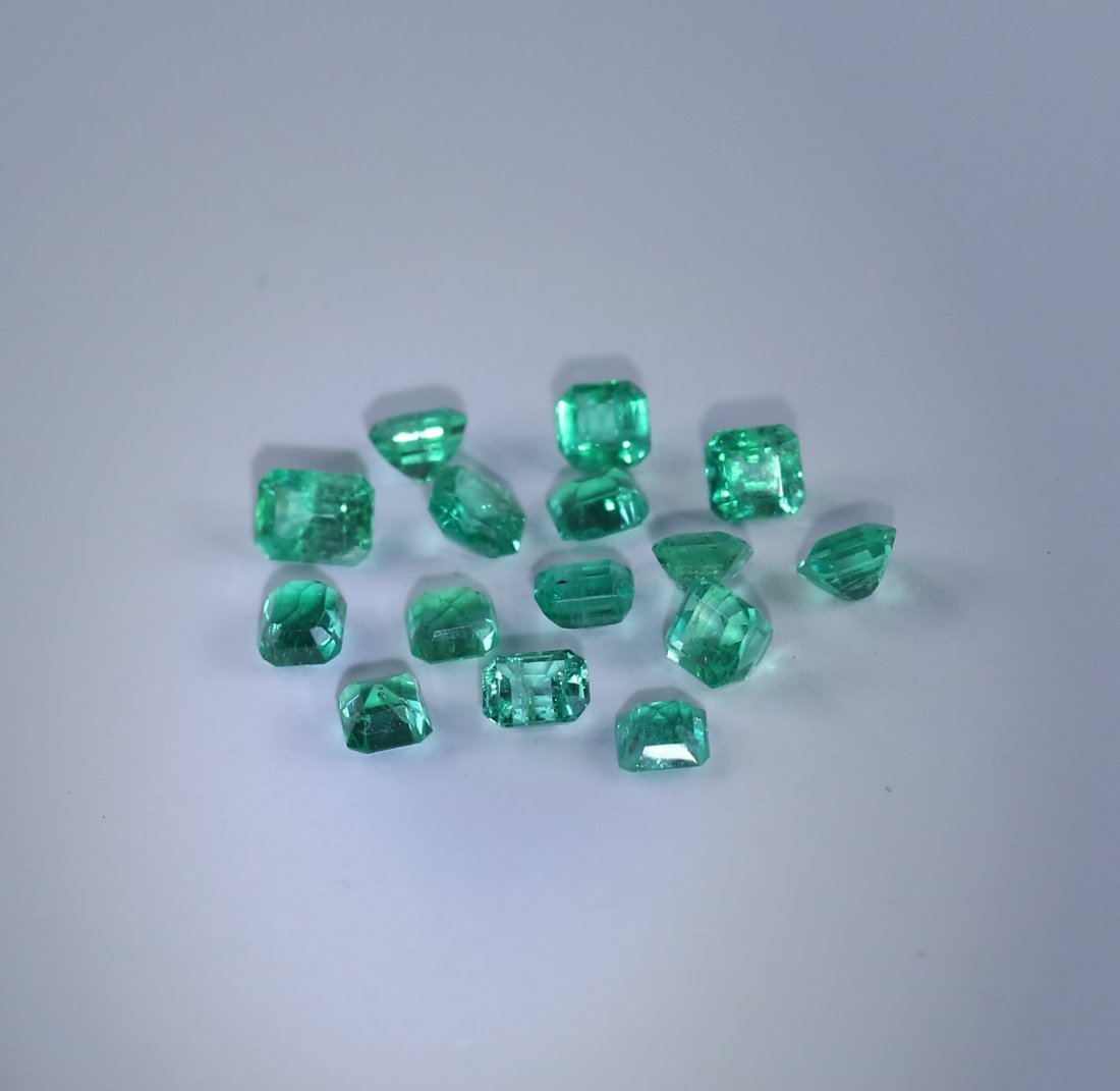 4.16 ct. Emerald Lot - COLOMBIA - 2