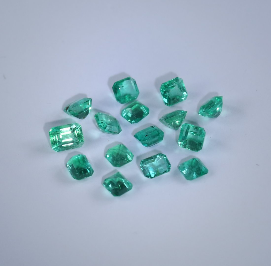 4.16 ct. Emerald Lot - COLOMBIA - 3