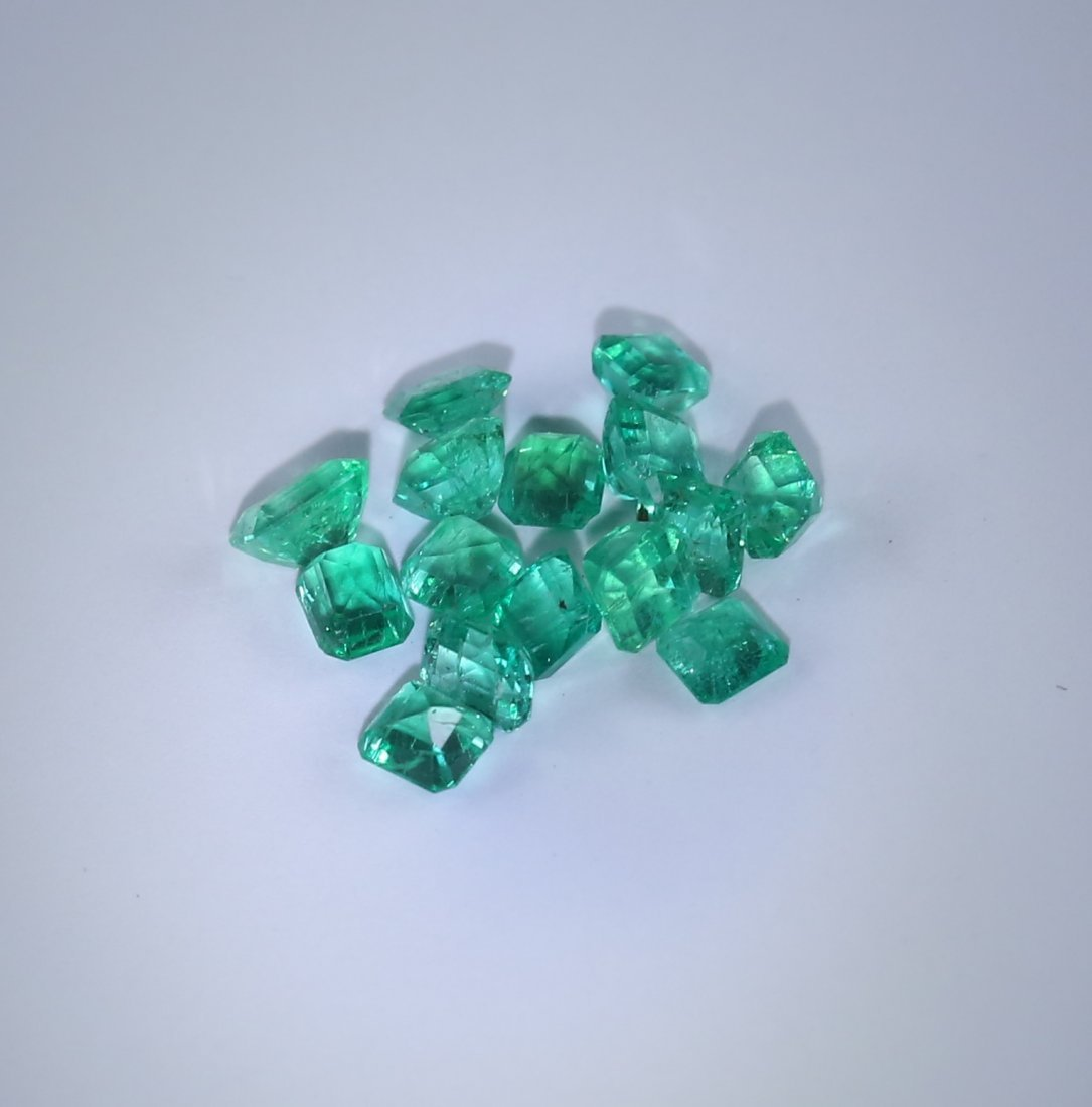 4.16 ct. Emerald Lot - COLOMBIA - 4