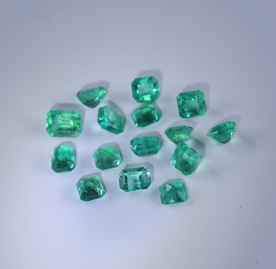 4.16 ct. Emerald Lot - COLOMBIA - 5