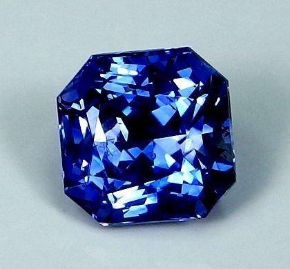 GIA Certified 3.51 ct. Untreated Blue Sapphire - BURMA