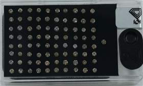 "IGI Certified Sealed 3.21 ct. Diamond ""D Box"" UNTREATED"