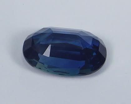 GIA Cert. 3.94ct. Untreated Blue Sapphire BURMA,MYANMAR - 10
