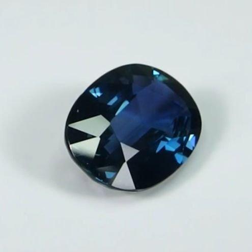 GIA Cert. 3.94ct. Untreated Blue Sapphire BURMA,MYANMAR - 3