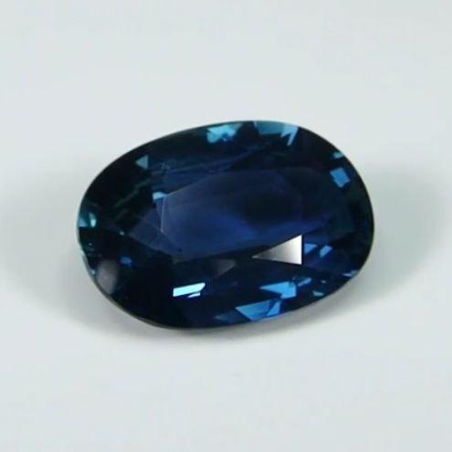 GIA Cert. 3.94ct. Untreated Blue Sapphire BURMA,MYANMAR - 4