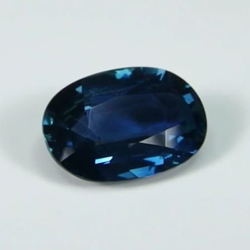 GIA Cert. 3.94ct. Untreated Blue Sapphire BURMA,MYANMAR - 5