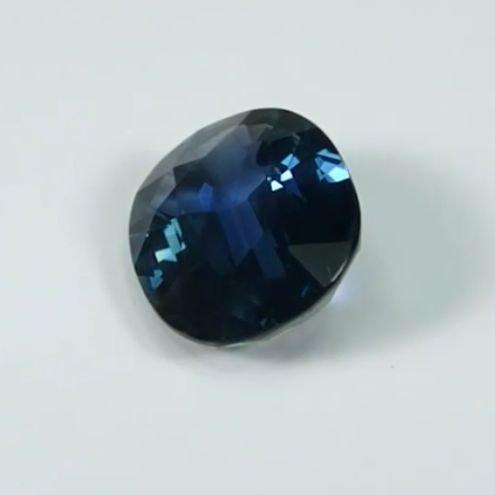 GIA Cert. 3.94ct. Untreated Blue Sapphire BURMA,MYANMAR - 9