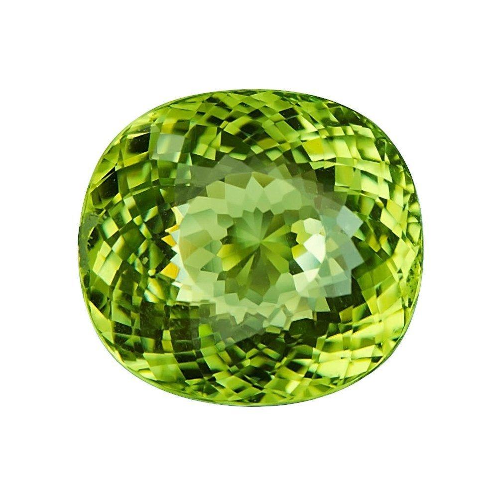 GIA Cert. 20.65 ct. Neon Yellowish Green Paraiba BRAZIL