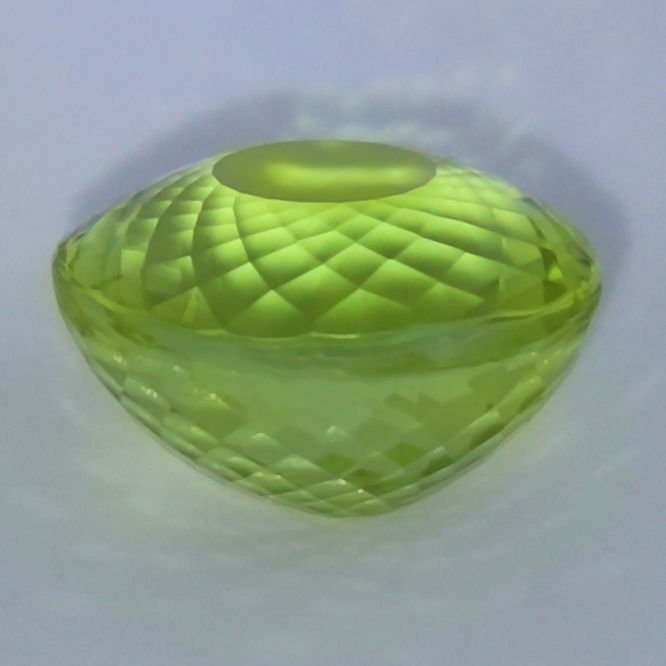 GIA Cert. 20.65 ct. Neon Yellowish Green Paraiba BRAZIL - 6