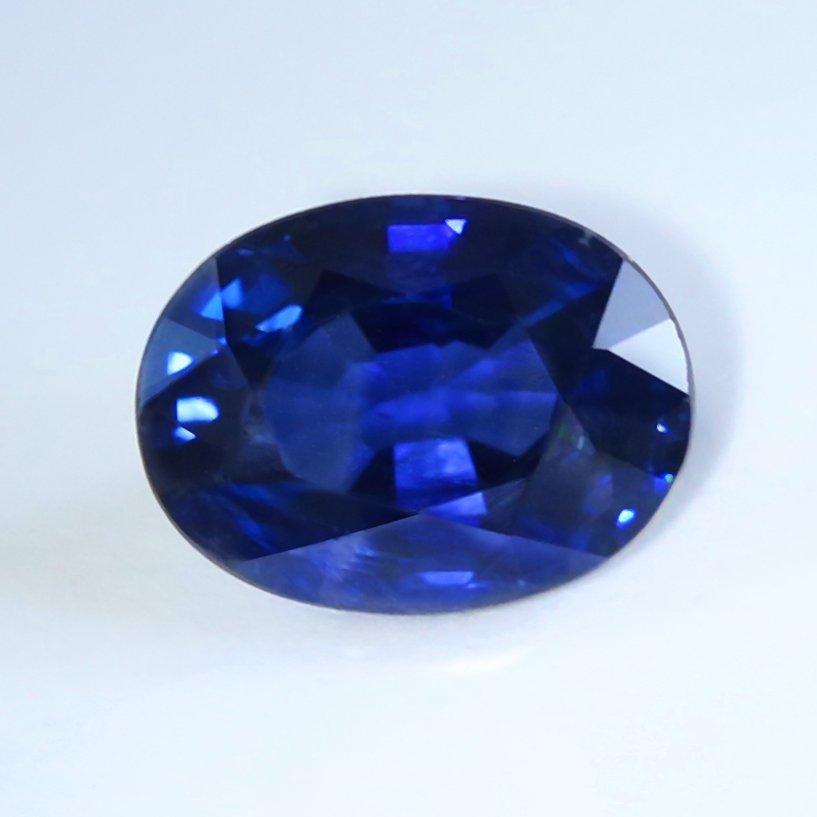 GIA Certified 2.07 ct. Blue Sapphire - BURMA, MYANMAR