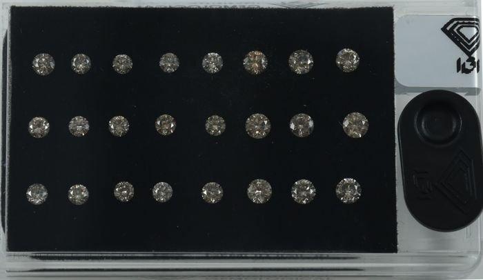 "IGI Certified Sealed 2.75 Ct. Diamond ""D Box"" UNTREATED"