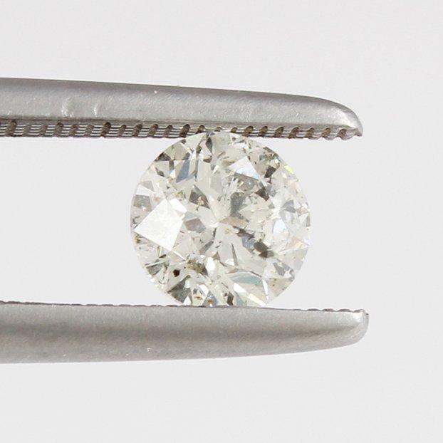 IGI Certified 1.00ct. Round Brilliant Diamond UNTREATED