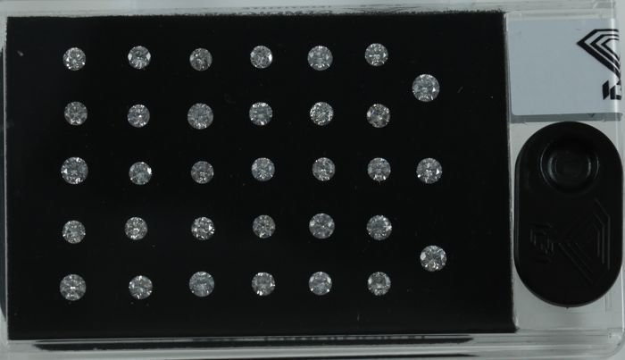 "IGI Certified Sealed 1.97 Ct. Diamond ""D Box"" UNTREATED"