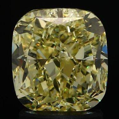 GIA Cert. 2.08 ct. Fancy Light Yellow Diamond - VS1