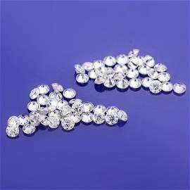 Set of 60 - 3.60 ct. Diamond Lot - H-I/SI-I - UNTREATED