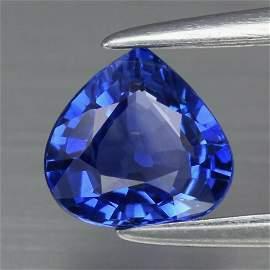 0.68 ct. Natural Blue Sapphire - BURMA, MYANMAR