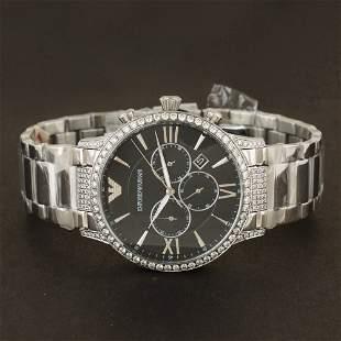 Original Emporio Armani Men's Diamond Watch